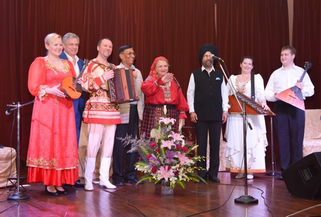 Organised as part of the Festival of Russian Culture and Art, the concert marked the RCSC's 50th anniversary in New Delhi and the Day of Russian Unity.