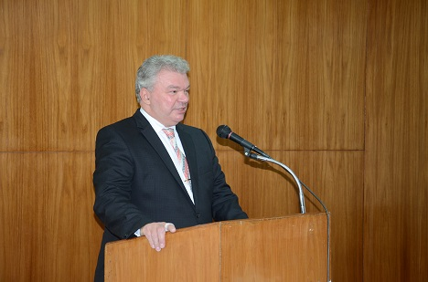 Vladimir Dementyev, Director of the Russian Centre for Science and Culture in Mumbai.