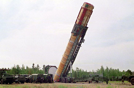 Russia's primary deterrent weapon is the mighty SS-18.