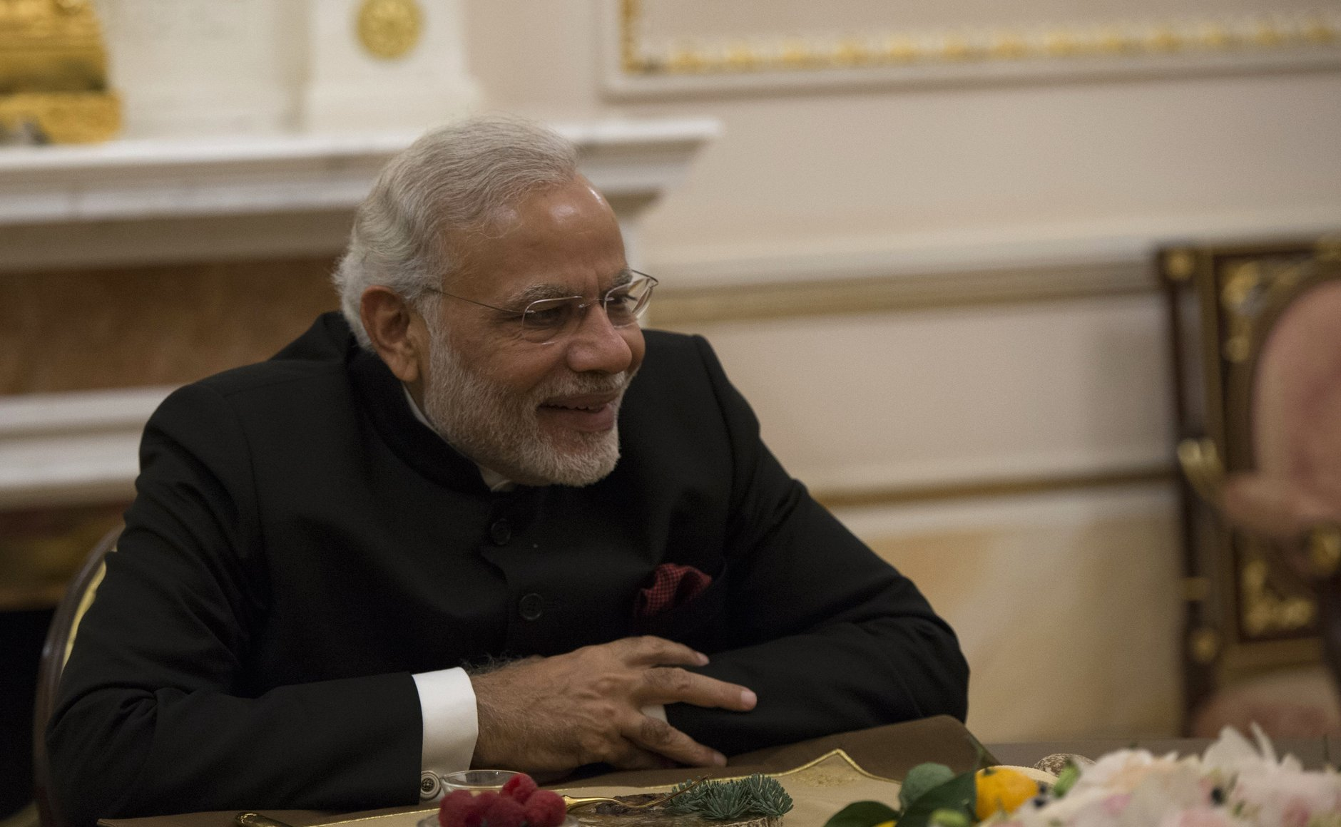 Narendra Modi visited Astrakhan when he was the chief minister of Gujarat.