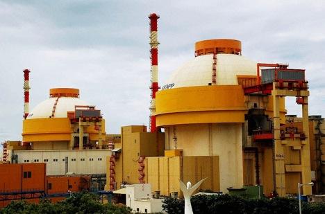 Kudankulam Nuclear Power Plant.