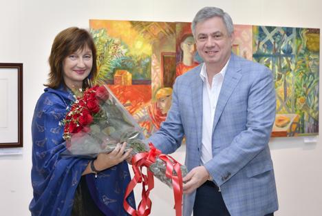 Olga Okuneva and Fedor Rozovskiy.