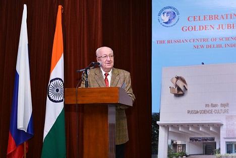Alexander M. Kadakin, Russia's Ambassador to India.