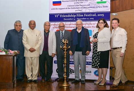 The film festival marked the 90th Anniversary of Russian Public Diplomacy and the RCSC Delhi's 50th Anniversary.