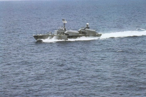 A Killer Squadron missile boat of Indian Navy during Indo-Pakistani war of 1971.