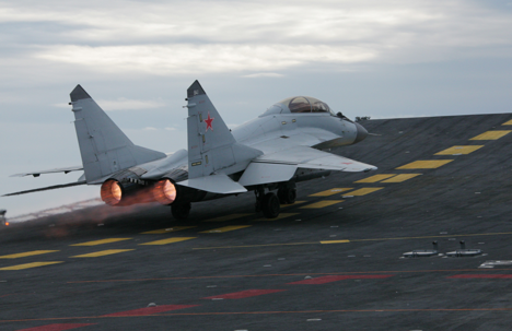 MiG-29KUB fighters have outstanding handling qualities and highly reliable units, systems and components.