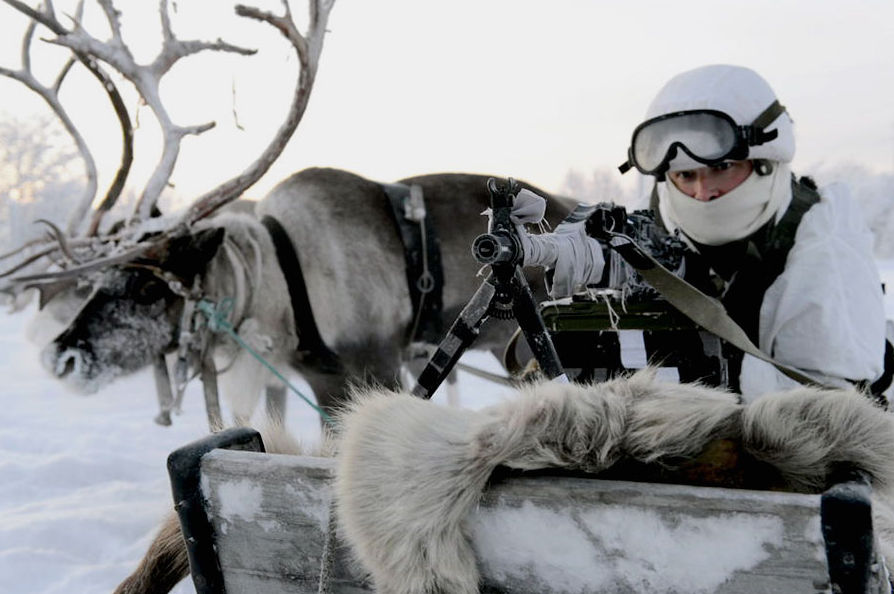 The region is so remote that some places are only accessible on reindeer-back.