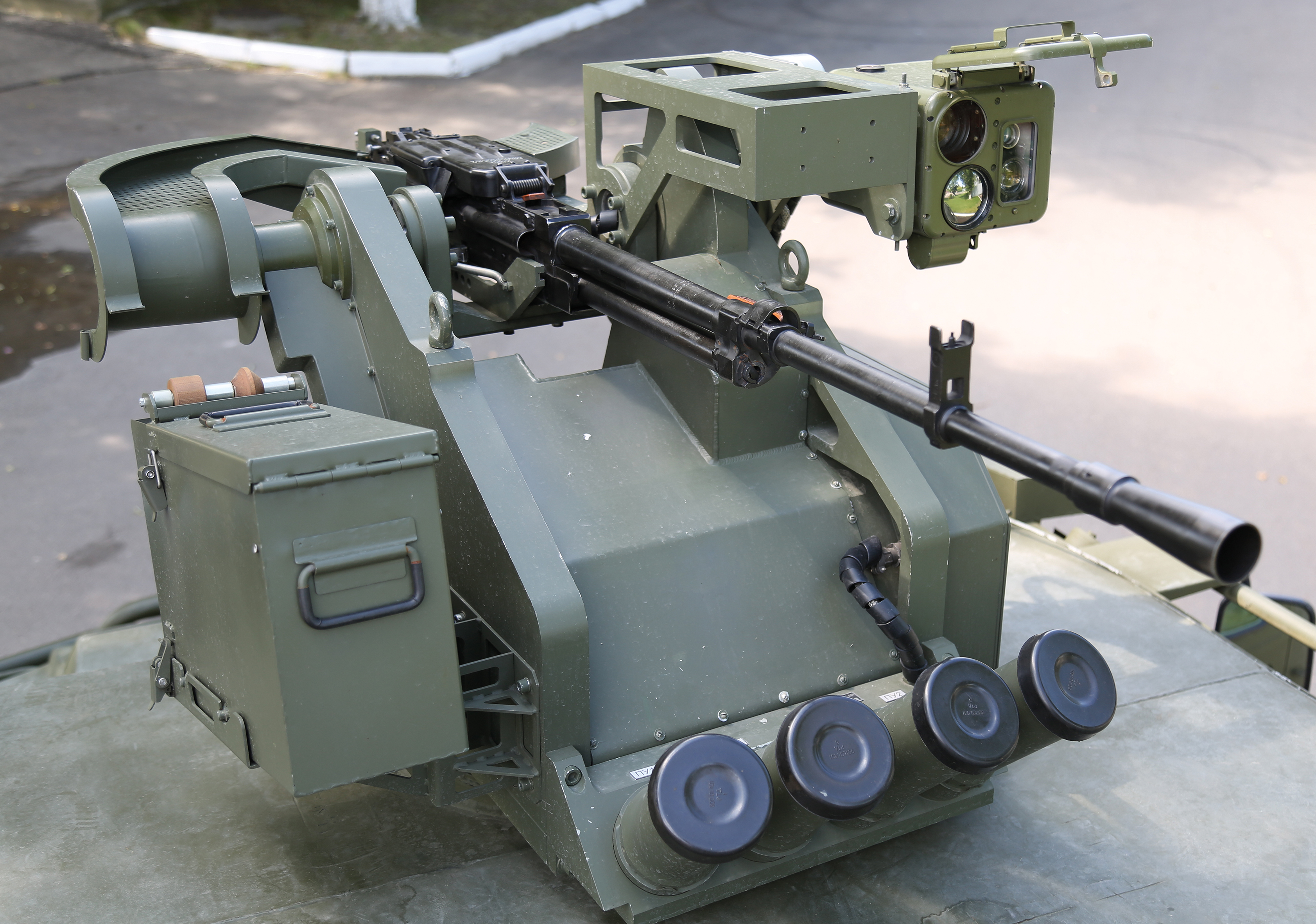 Arbalet-DM remote-controlled combat module (RCCM).