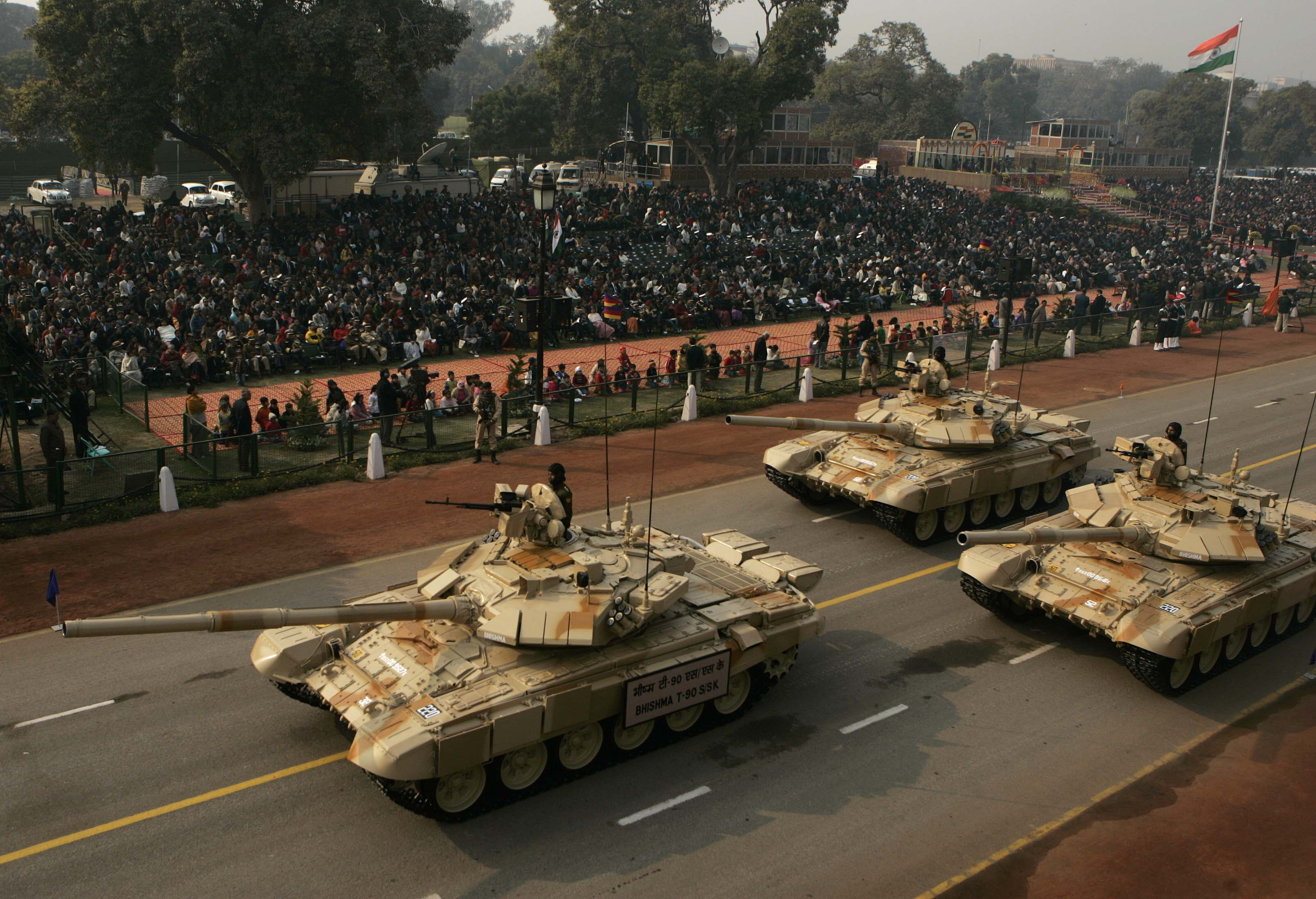 "The T-90 are the Indian Army's main ""attraction""."