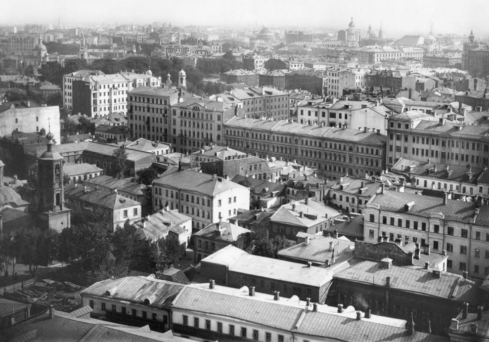 Moscow in 1914.