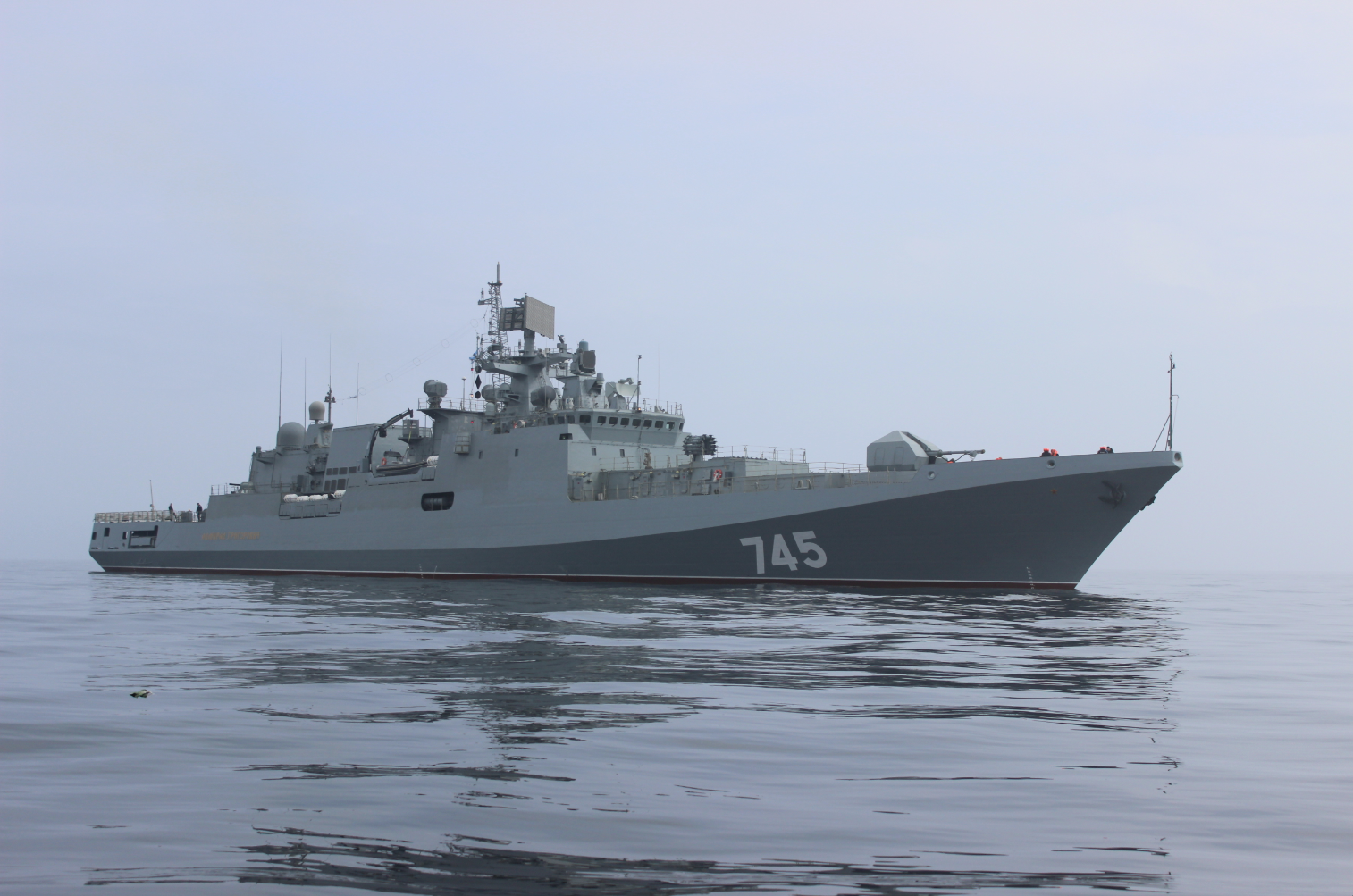 Project 11356 frigate Admiral Grigorovich.