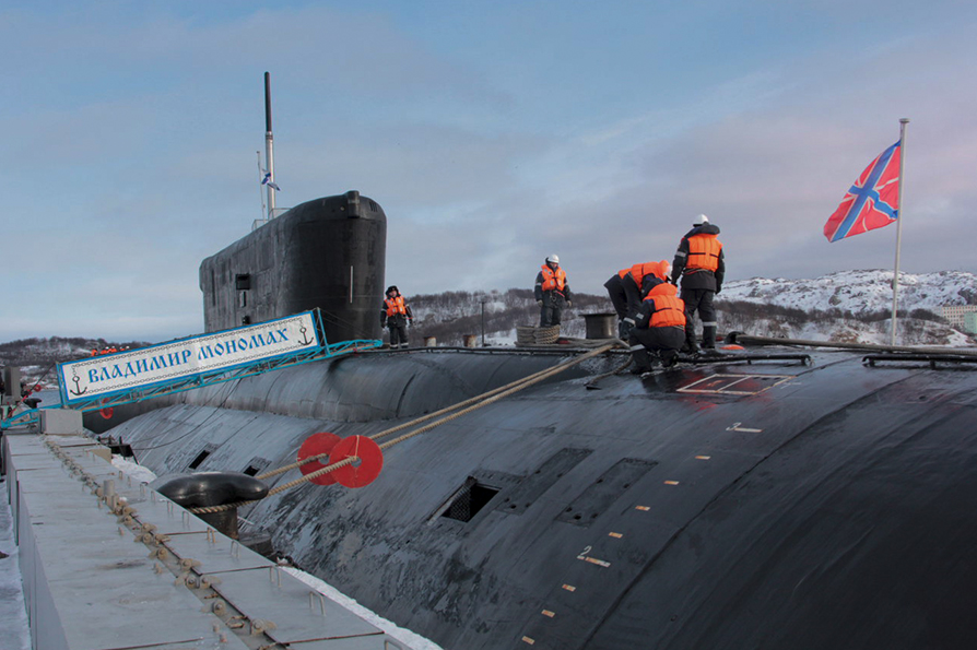 The Borei-class subs are replacing outgoing nuclear subs of the previous generation and are set to become the backbone of Russia's sea-based nuclear defences.