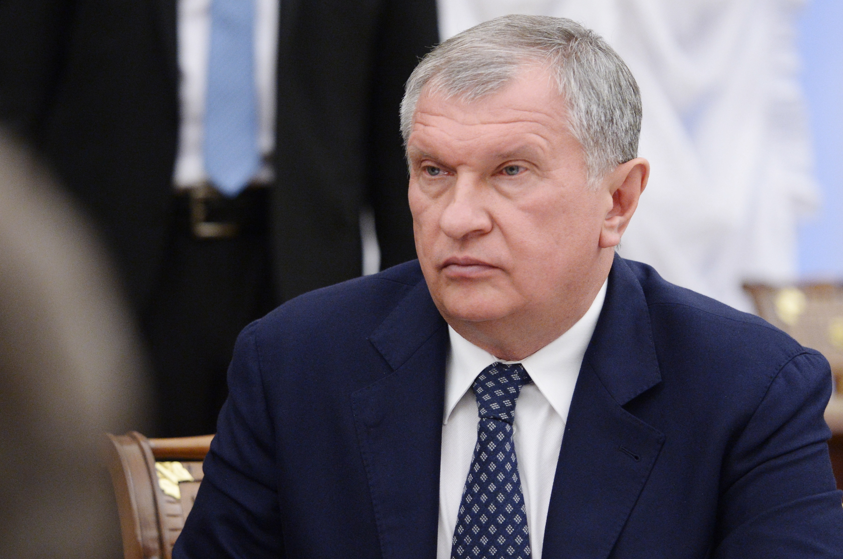 President and Chairman of the management board of Rosneft Igor Sechin
