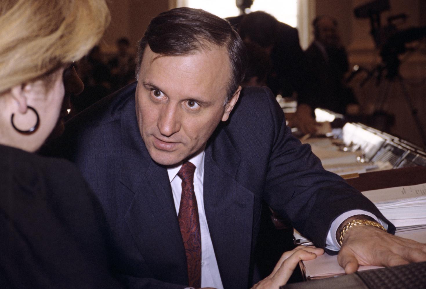 Gennady Burbulis in 1992.