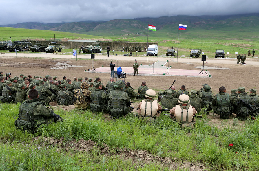 CSTO Search-2016 joint special exercise was held on April 18-22 in Tajikistan.