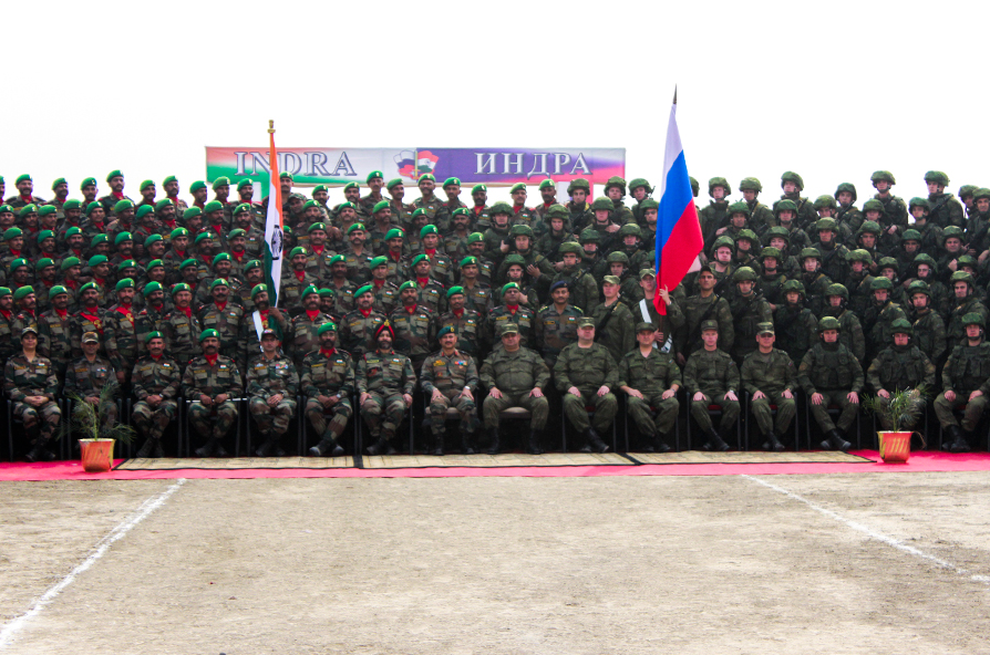 Russia and India have been close partners in military and technical cooperation for decades.