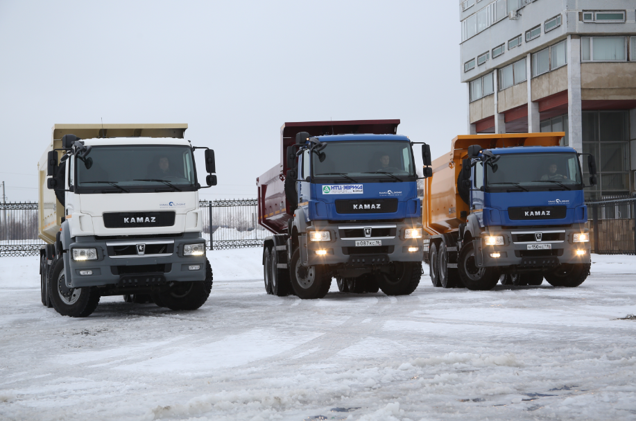 KAMAZ also provides certification for new vehicles, and is getting ready to start selling its products in Iran.