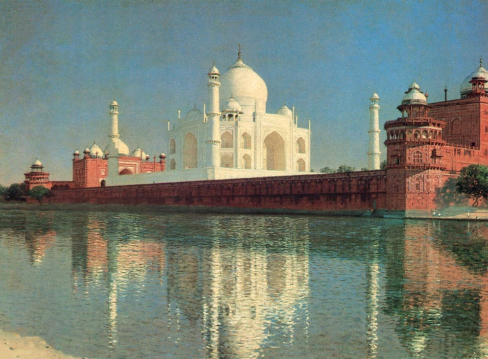 Vasily Vereshchagin. Taj Mahal Mausoleum, Agra (1874-1876)