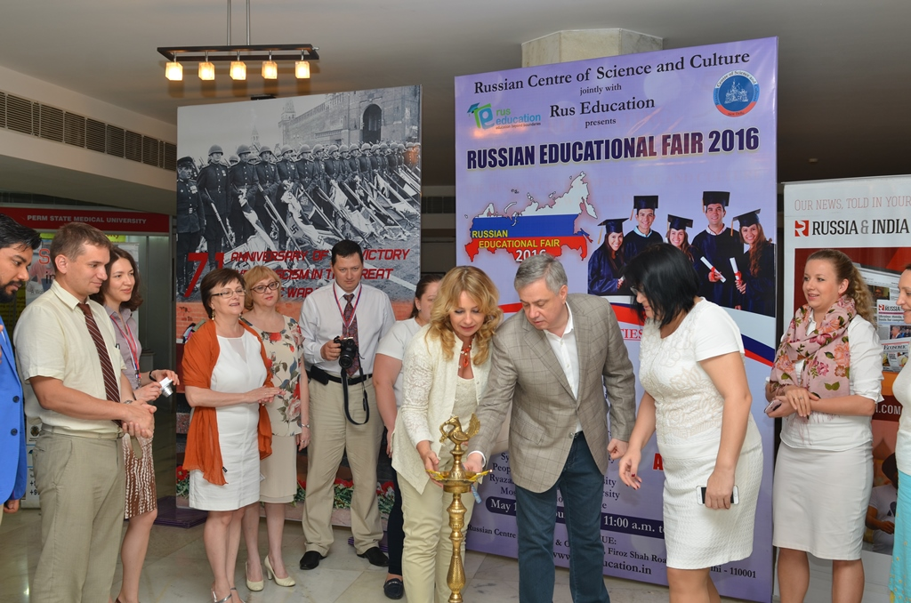 Fifteen leading Russian Higher Educational Institutions participated in the Fair.