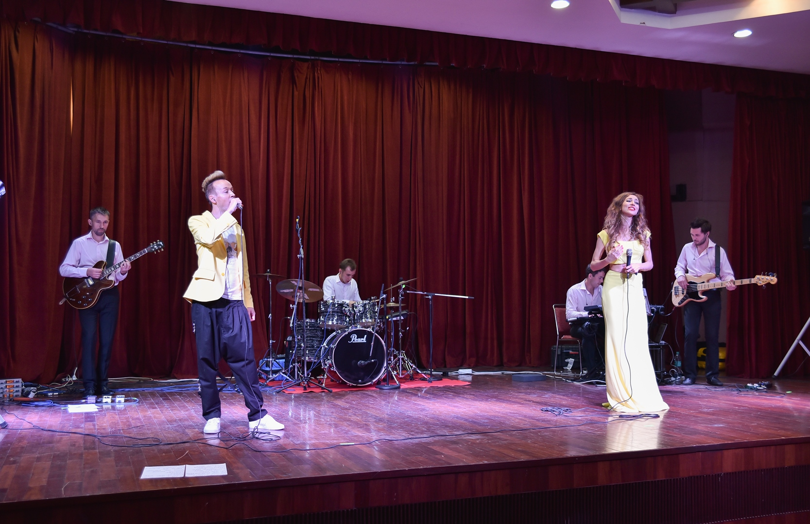 The Luxury Band from Moscow performed at the RCSC on June 8.