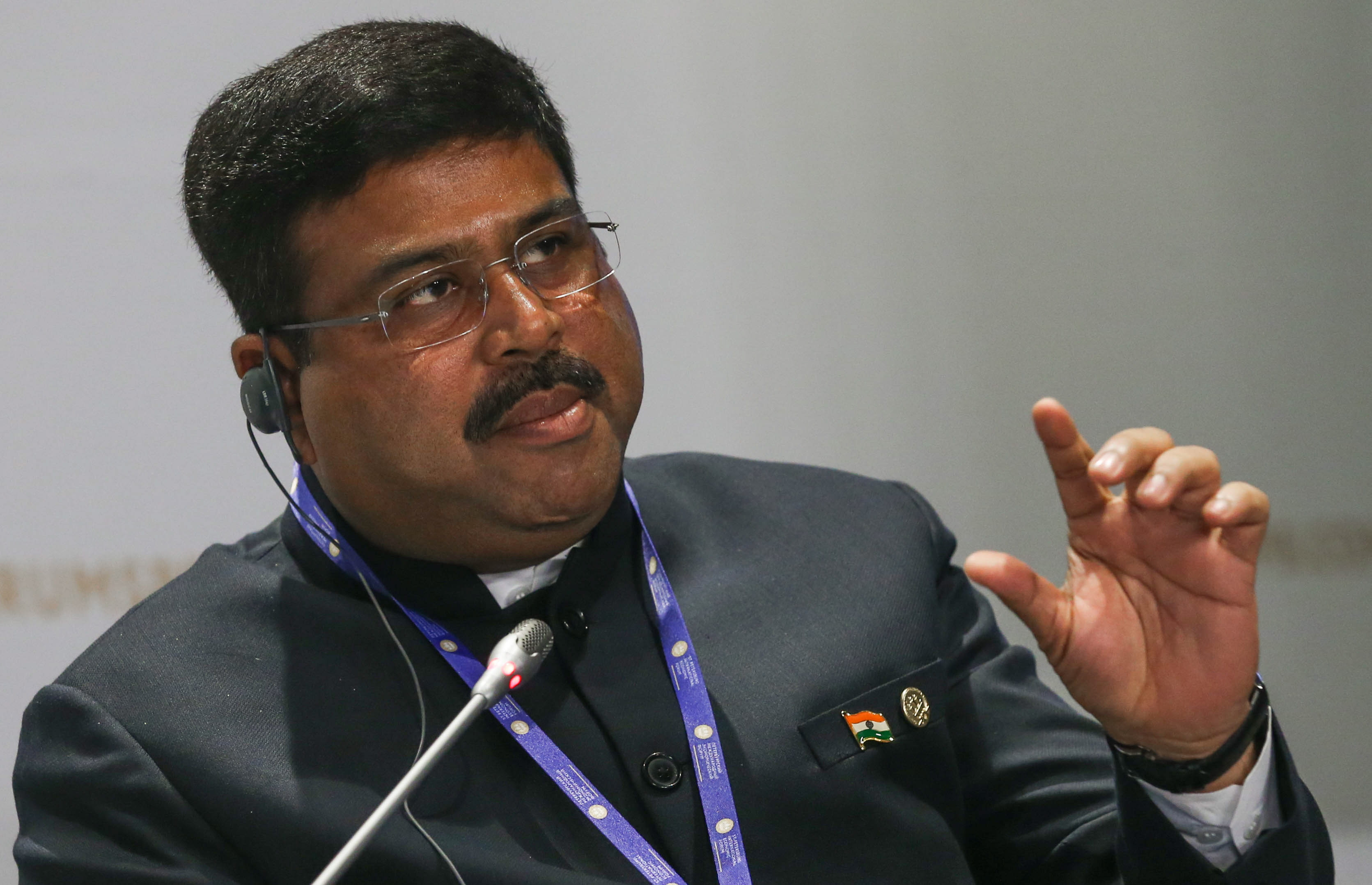 Dharmendra Pradhan, Indian Minister for Oil and Natural Gas.