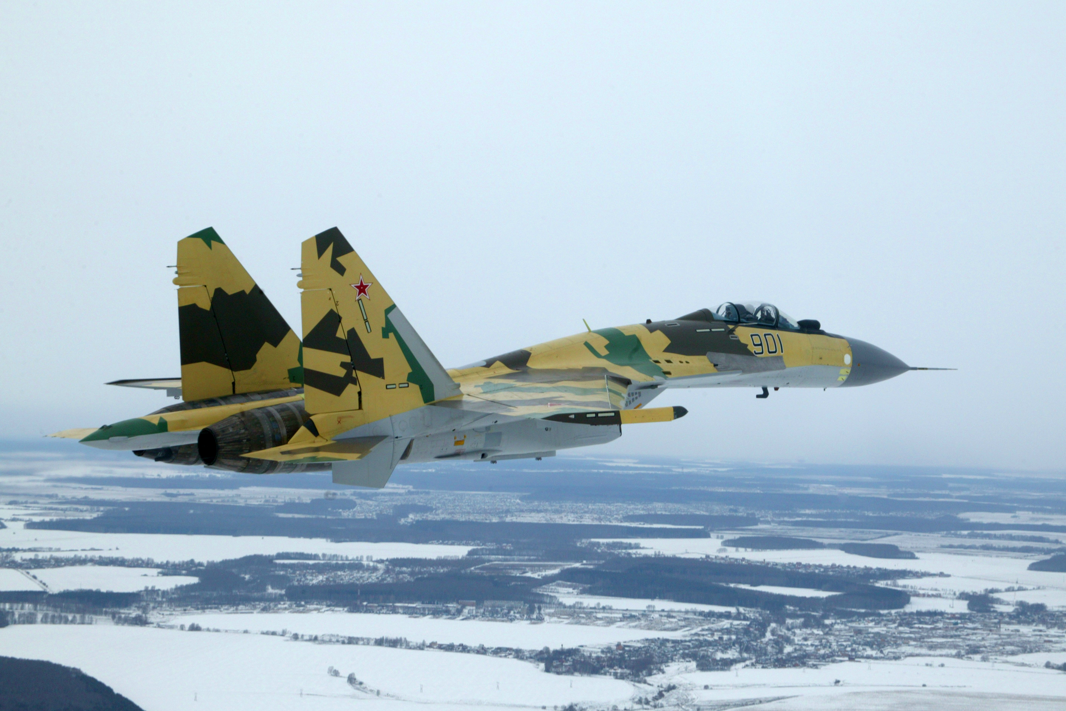 Su-35.