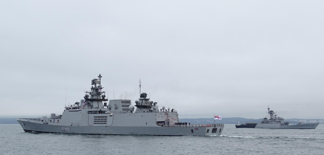 A group of ships of the Indian Navy arrived in Vladivostok on an unofficial visit.