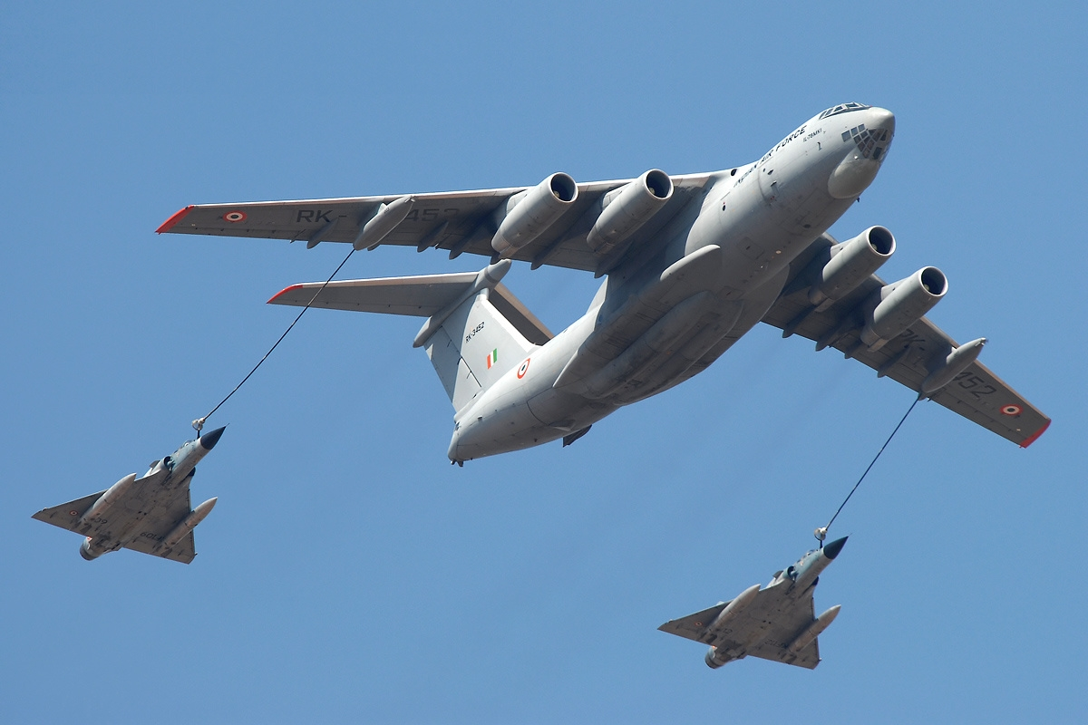 The Indian Air Force already operates several Il-78MKI tankers delivered in 2003-2006.