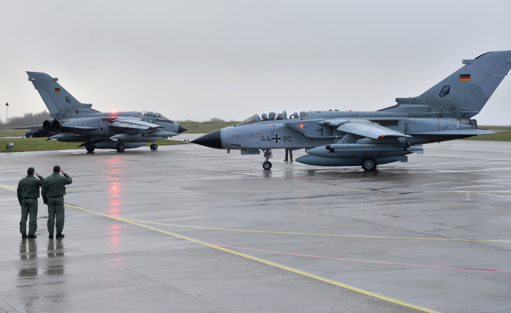German jets at NATO air base in Incirlik.
