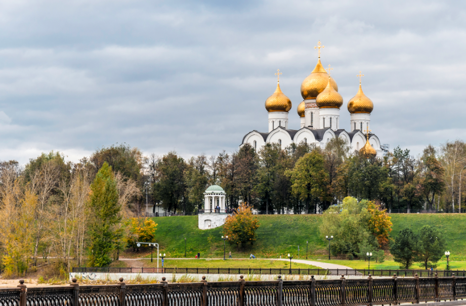 Yaroslavl in the autumn.