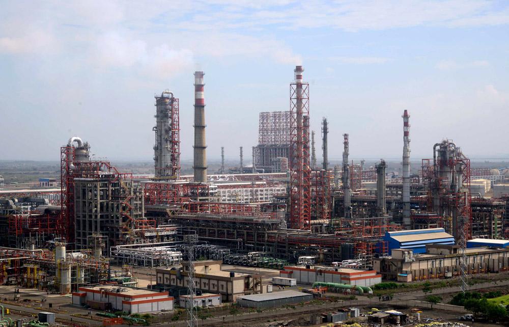 Essar Oil's Vadinar Refinery.
