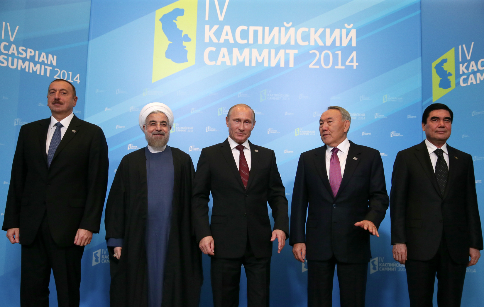 The tripartite meeting between Putin, Aliyev and Rouhani may occur in August.
