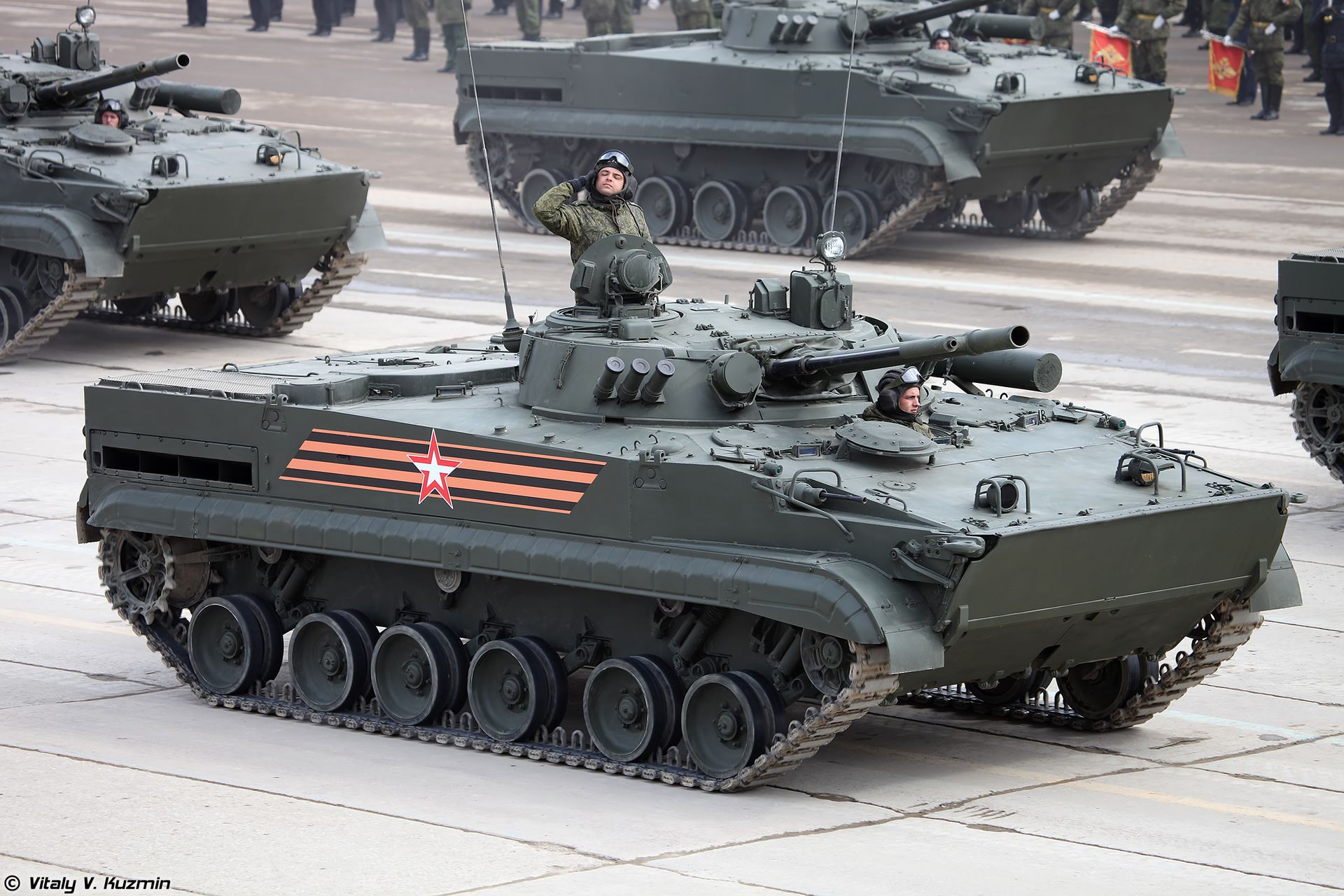 BMP-3 at the Victory Day Parade in Moscow.