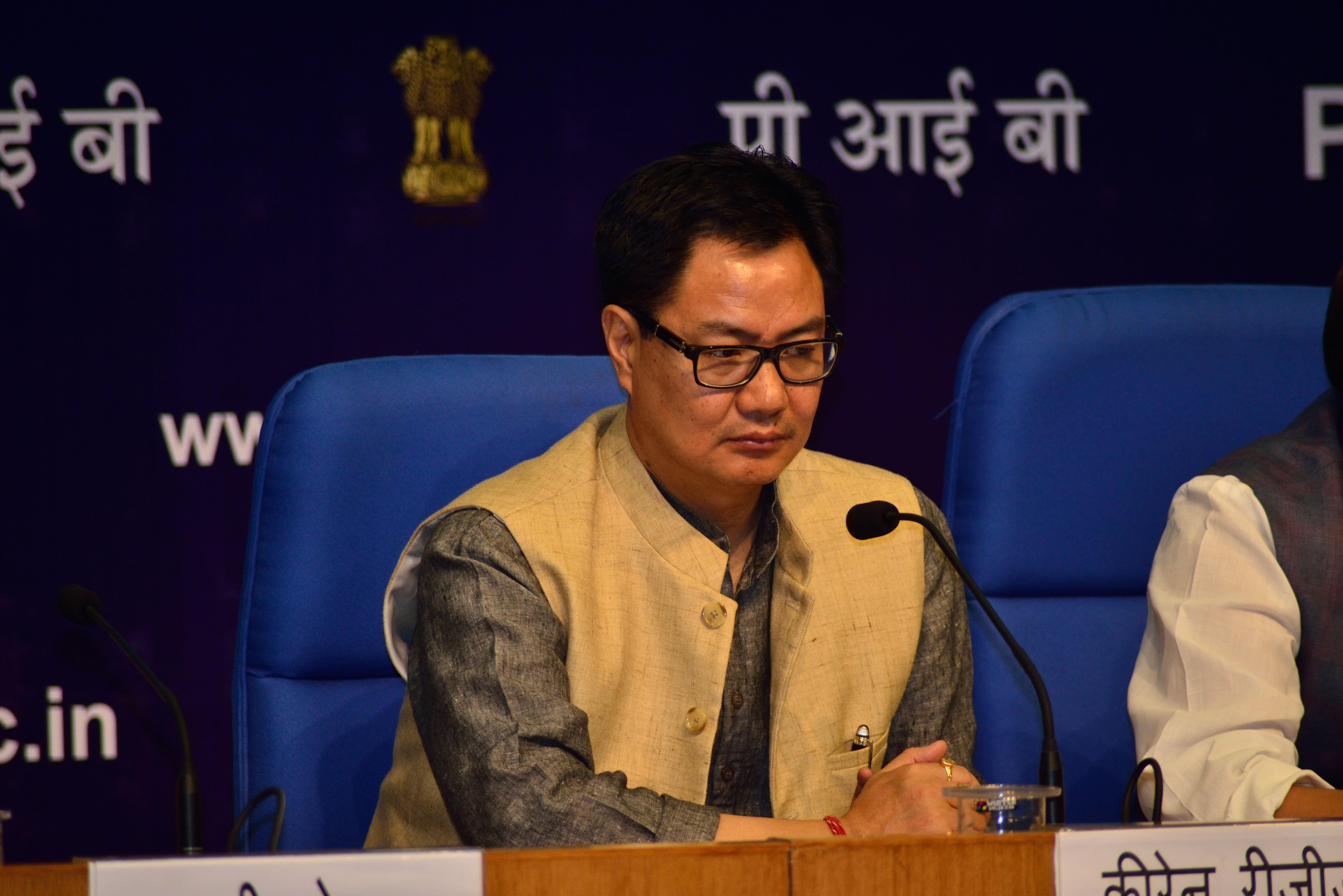 """Rijiju: """"A Índia uma das maiores e mais eficientes forças de resposta a desastres"""""""