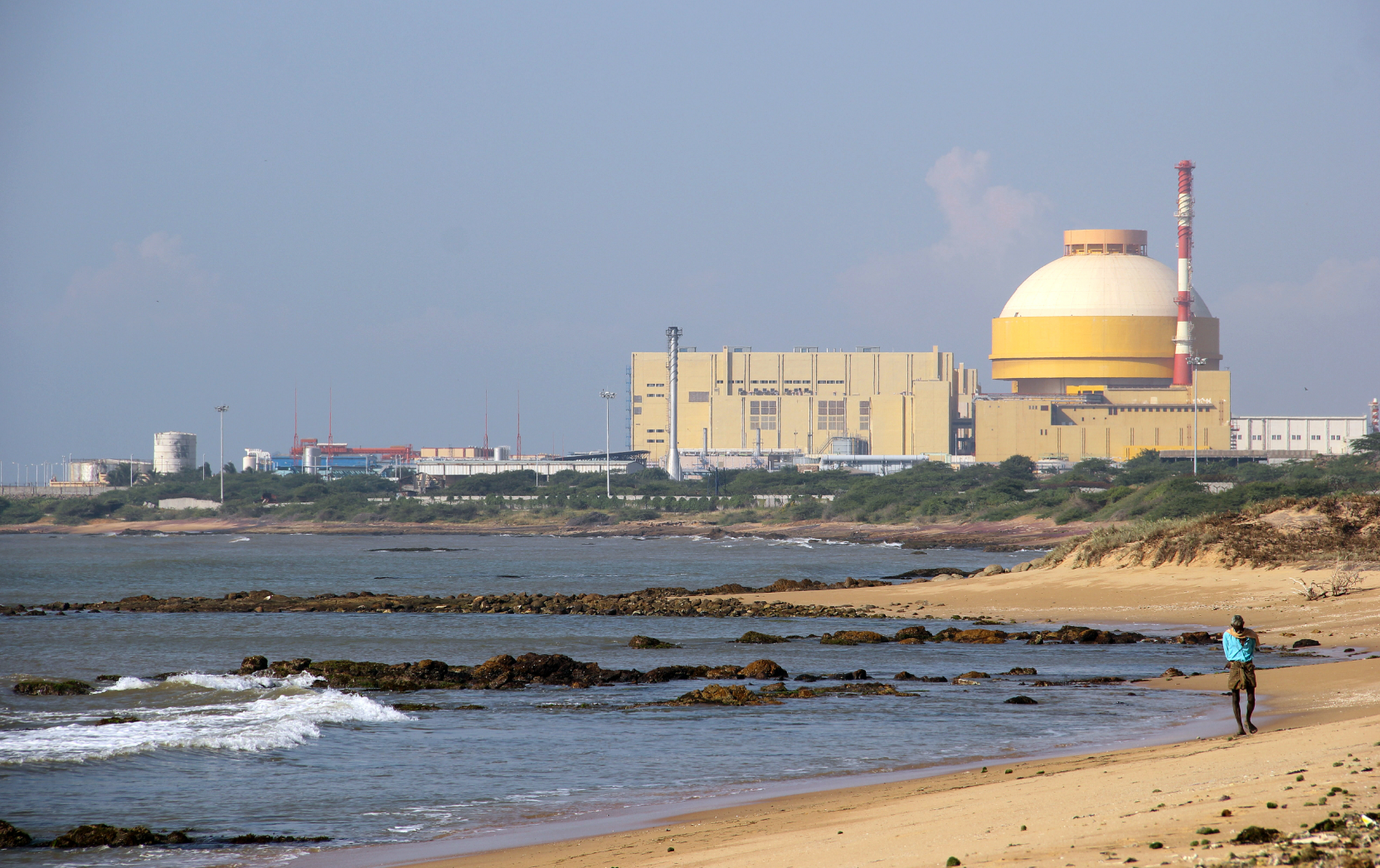 Roastom constructed the Kudankulam nuclear power plant, which is now being operated by NPCIL.