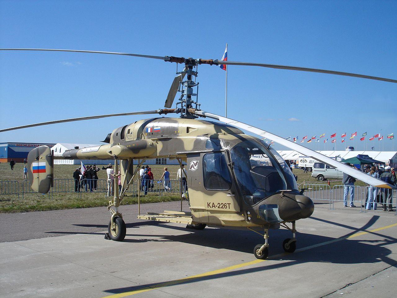 Helikopter Kamov Ka-226T buatan Rusia-India.