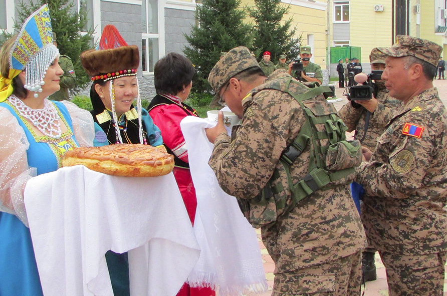 The drills were held at the Ulun Burduny training complex in the Republic of Buryatia, Russia's Siberia.