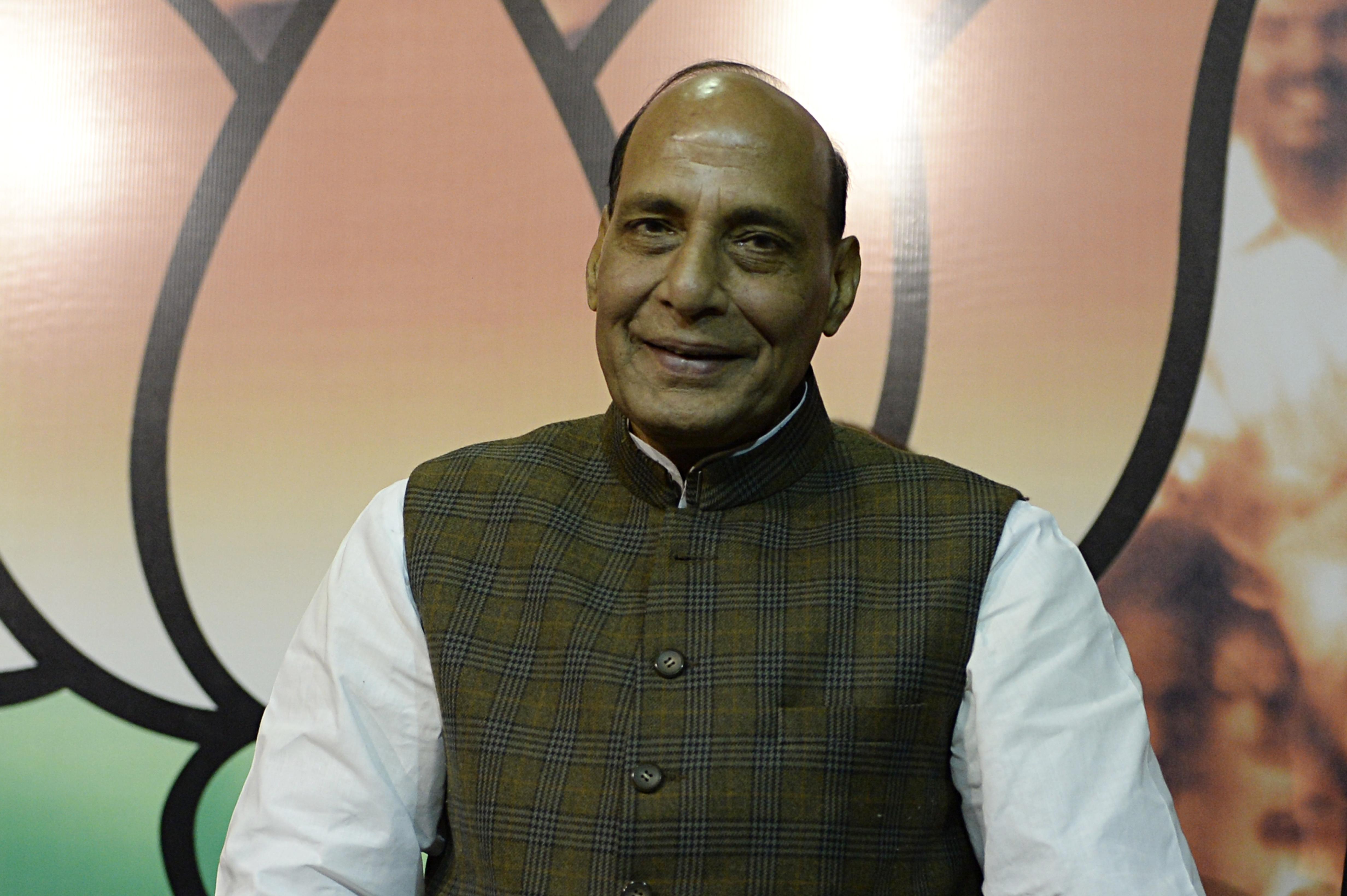 Rajnath Singh.