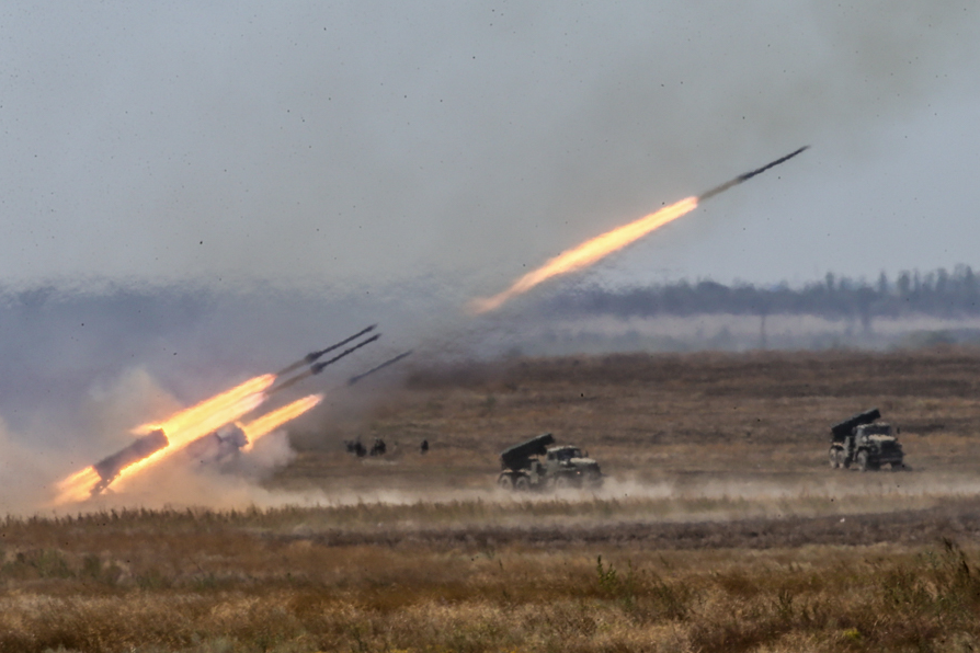 The largest episodes took place at the ranges Prudboy (Volgograd Region) and Opuk (Republic of Crimea).