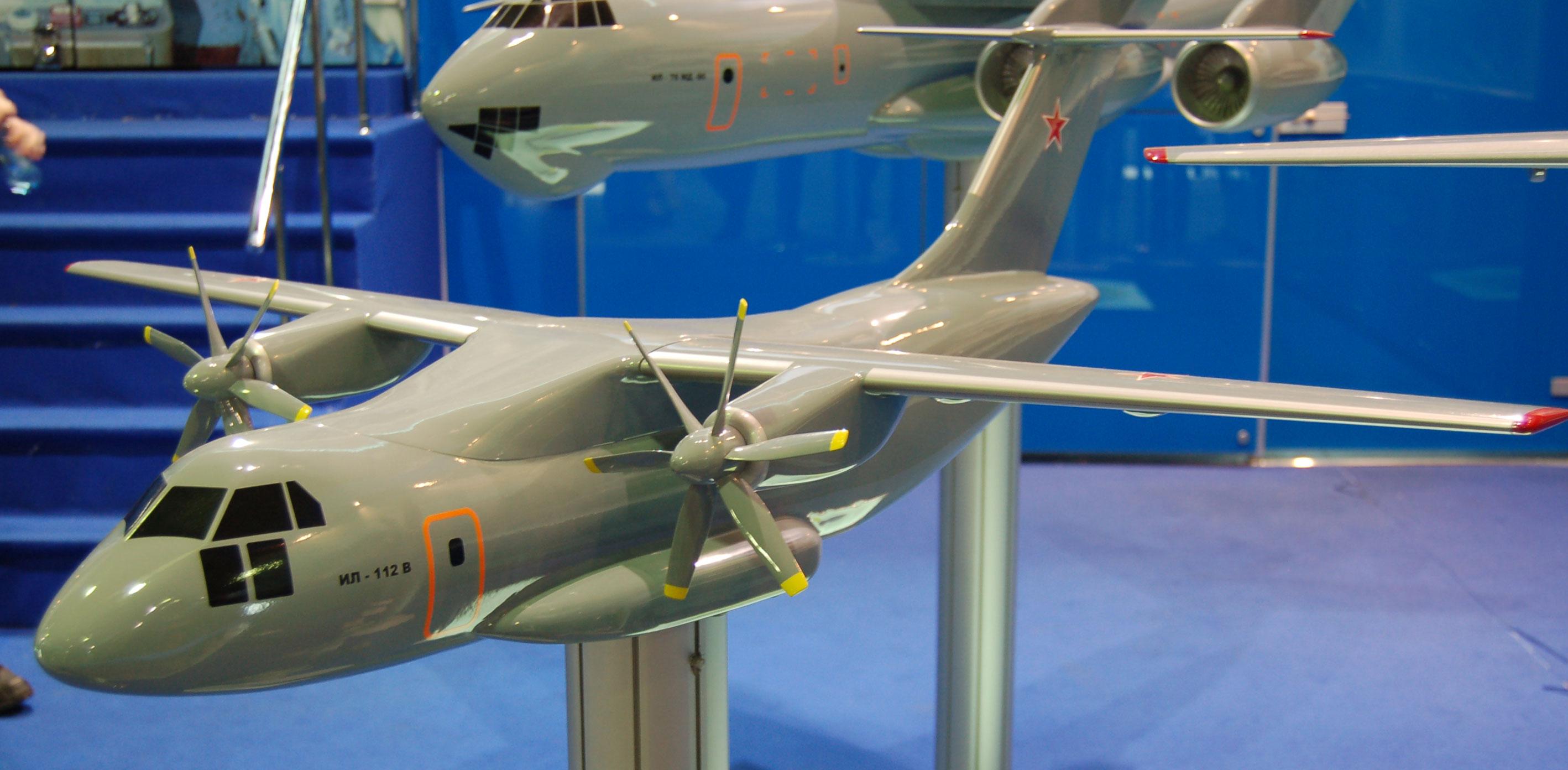 Il-112 aircraft.