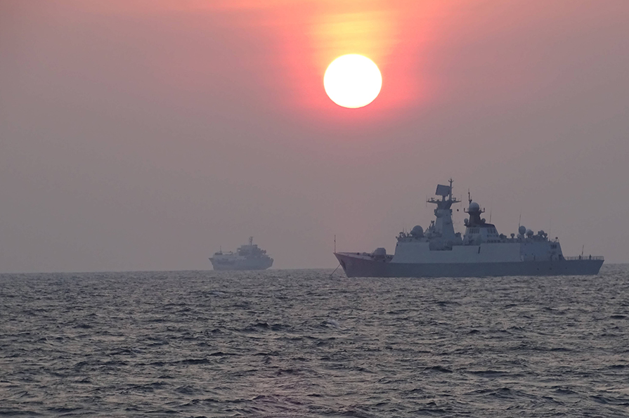 Twenty-five ships and submarines, 13 planes, nine helicopters and two special forces units took part in the drills in 2012.