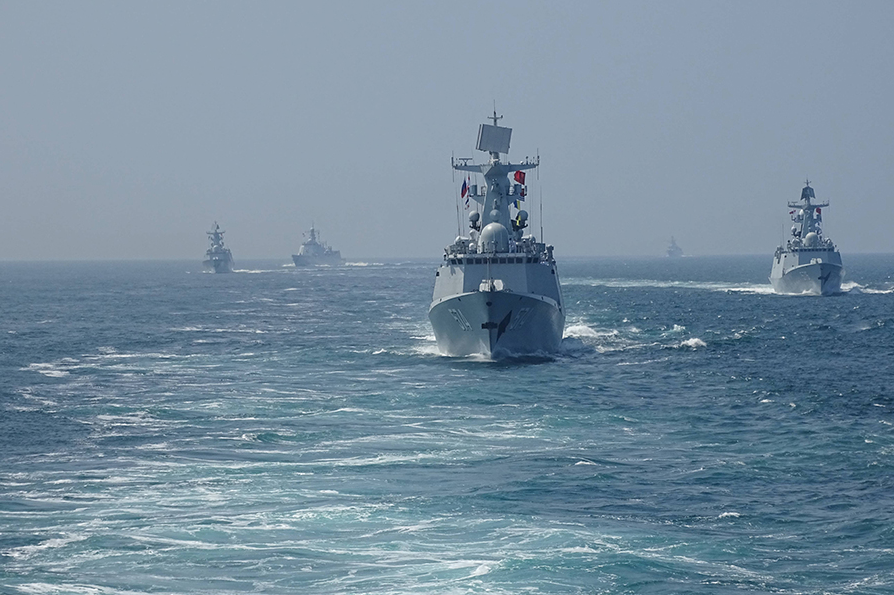 "The first ""Joint Sea"" drills were held on April 22-27, 2012 in the Yellow Sea near the city of Qingdao in the eastern Chinese province of Shandong province."
