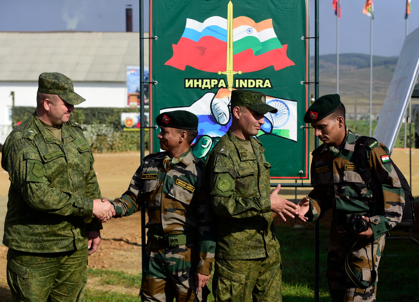If Russia throws its military helmet into the ring, India would welcome such direct support.