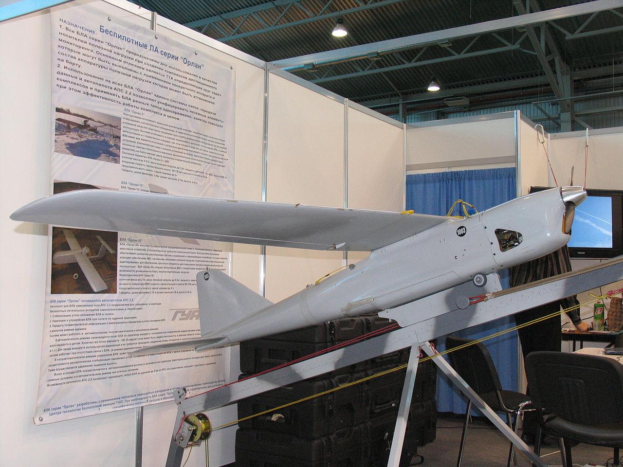 Orlan-10. Source: wikipedia.org