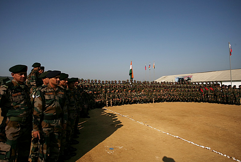 India-Russia joint drills INDRA-2016 took place in the Ussiriysk District in Vladivostok, Russia.