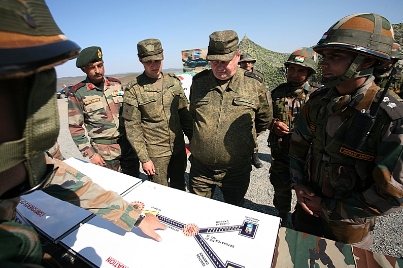 Russia and India have maintained a close partnership in military and technical cooperation for decades.