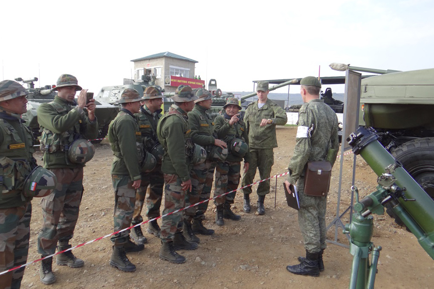 Troops of both countries got the chance to practice working with each other over the course of eleven days.