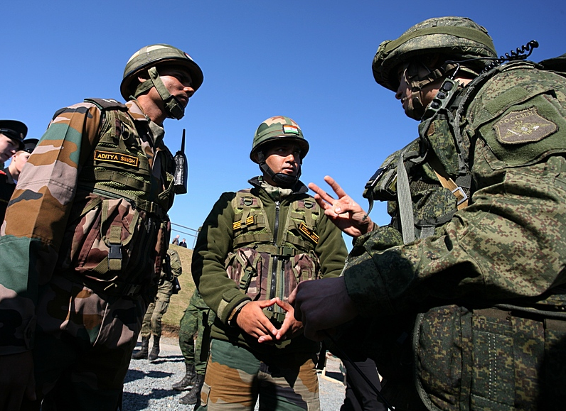 Main focus of the drill was on counter-terrorism operations in semi-mountainous and jungle terrain under United Nations mandate.