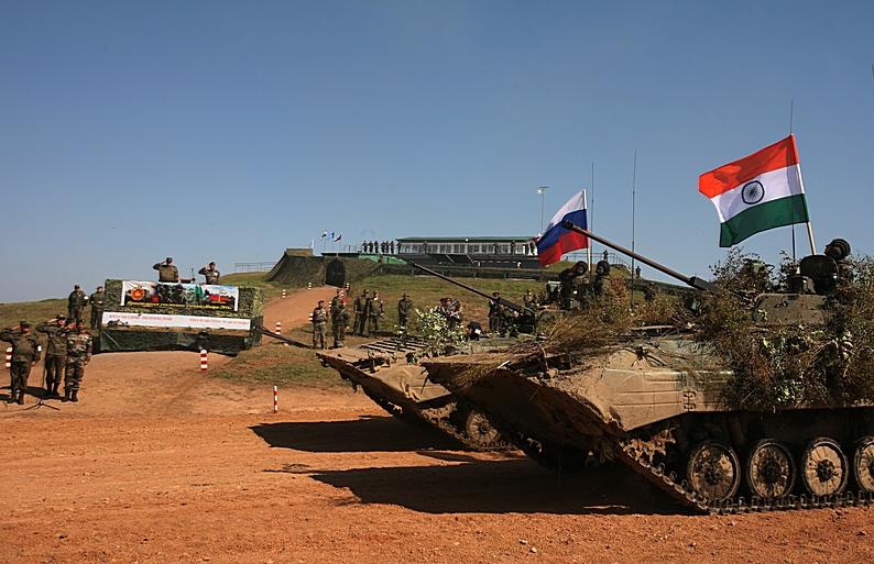 Two mechanized infantry companies, a tank company, howitzer, self-propelled artillery and rocket batteries; a flamethrower squad took part in the drills.