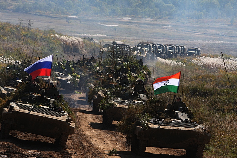 Russia and India are holding INDRA drills since 2003.